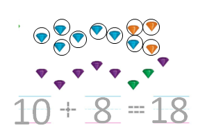 Big-Ideas-Math-Solutions-Grade-K-Chapter-8-Represent Numbers 11 to 19-8.11-07