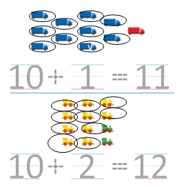 Big-Ideas-Math-Solutions-Grade-K-Chapter-8-Represent Numbers 11 to 19-8.2-05