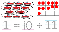 Big-Ideas-Math-Solutions-Grade-K-Chapter-8-Represent Numbers 11 to 19-8.3-011