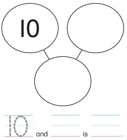 Big Ideas Math Solutions Grade K Chapter 8 Represent Numbers 11 to 19 8.3 1