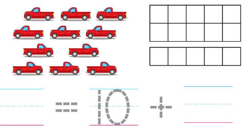 Big Ideas Math Solutions Grade K Chapter 8 Represent Numbers 11 to 19 8.3 6