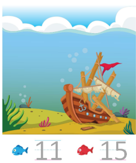 Big-Ideas-Math-Solutions-Grade-K-Chapter-8-Represent Numbers 11 to 19-8.4-7