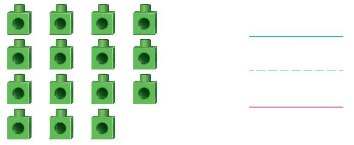 Big Ideas Math Solutions Grade K Chapter 8 Represent Numbers 11 to 19 8.6 8