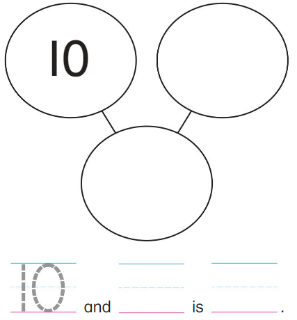 Big Ideas Math Solutions Grade K Chapter 8 Represent Numbers 11 to 19 8.9 1