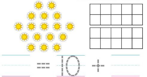 Big Ideas Math Solutions Grade K Chapter 8 Represent Numbers 11 to 19 8.9 2