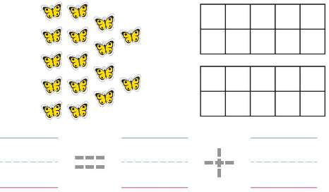 Big Ideas Math Solutions Grade K Chapter 8 Represent Numbers 11 to 19 8.9 7
