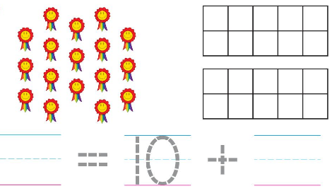 Big Ideas Math Solutions Grade K Chapter 8 Represent Numbers 11 to 19 chp 12