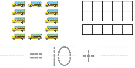 Big Ideas Math Solutions Grade K Chapter 8 Represent Numbers 11 to 19 chp 5