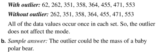 Big Ideas Math Algebra 1 Answer Key Chapter 11 Data Analysis and Displays 11.1 a15.2