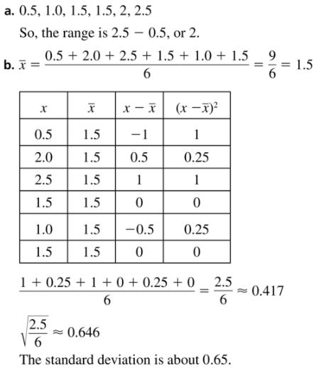 Big Ideas Math Algebra 1 Answer Key Chapter 11 Data Analysis and Displays 11.1 a21