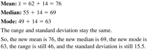 Big Ideas Math Algebra 1 Answer Key Chapter 11 Data Analysis and Displays 11.1 a27