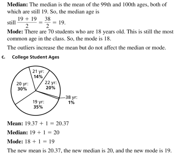 Big Ideas Math Algebra 1 Answer Key Chapter 11 Data Analysis and Displays 11.1 a39.2