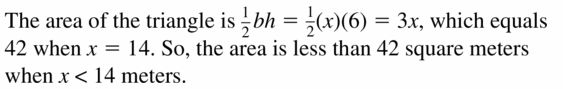 Big Ideas Math Algebra 1 Answer Key Chapter 2 Solving Linear Inequalities 2.1 Question 55