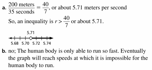 Big Ideas Math Algebra 1 Answer Key Chapter 2 Solving Linear Inequalities 2.1 Question 59