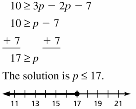 Big Ideas Math Algebra 1 Answer Key Chapter 2 Solving Linear Inequalities 2.2 Question 19