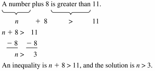 Big Ideas Math Algebra 1 Answer Key Chapter 2 Solving Linear Inequalities 2.2 Question 21
