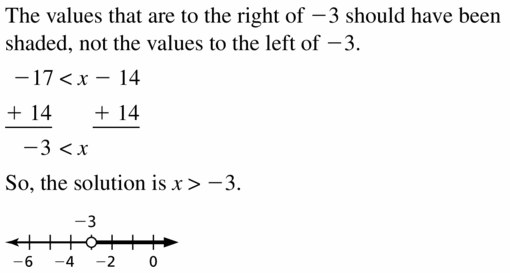Big Ideas Math Algebra 1 Answer Key Chapter 2 Solving Linear Inequalities 2.2 Question 27