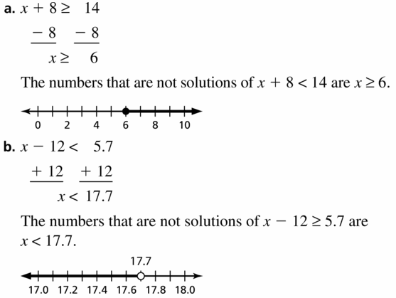 Big Ideas Math Algebra 1 Answer Key Chapter 2 Solving Linear Inequalities 2.2 Question 37