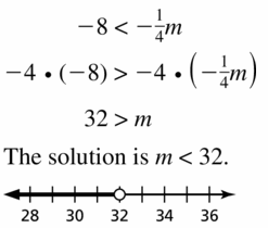 Big Ideas Math Algebra 1 Answer Key Chapter 2 Solving Linear Inequalities 2.3 Question 17