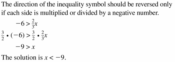 Big Ideas Math Algebra 1 Answer Key Chapter 2 Solving Linear Inequalities 2.3 Question 27