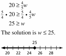 Big Ideas Math Algebra 1 Answer Key Chapter 2 Solving Linear Inequalities 2.3 Question 9
