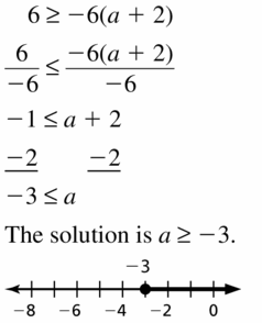 Big Ideas Math Algebra 1 Answer Key Chapter 2 Solving Linear Inequalities 2.4 Question 15
