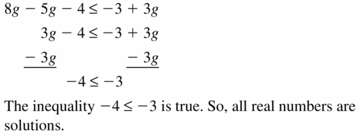 Big Ideas Math Algebra 1 Answer Key Chapter 2 Solving Linear Inequalities 2.4 Question 21