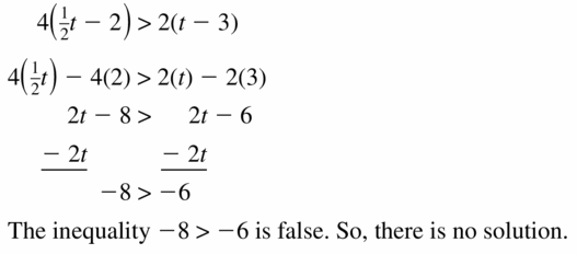 Big Ideas Math Algebra 1 Answer Key Chapter 2 Solving Linear Inequalities 2.4 Question 25