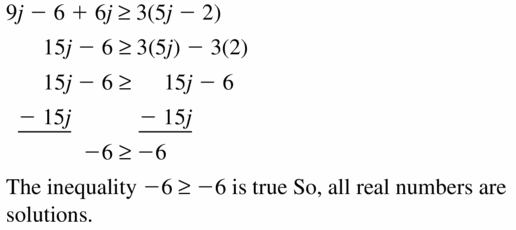 Big Ideas Math Algebra 1 Answer Key Chapter 2 Solving Linear Inequalities 2.4 Question 27