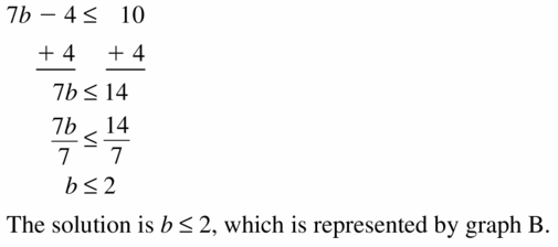 Big Ideas Math Algebra 1 Answer Key Chapter 2 Solving Linear Inequalities 2.4 Question 3