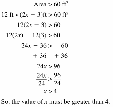 Big Ideas Math Algebra 1 Answer Key Chapter 2 Solving Linear Inequalities 2.4 Question 33