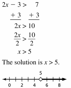 Big Ideas Math Algebra 1 Answer Key Chapter 2 Solving Linear Inequalities 2.4 Question 7