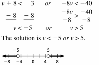 Big Ideas Math Algebra 1 Answer Key Chapter 2 Solving Linear Inequalities 2.5 Question 15