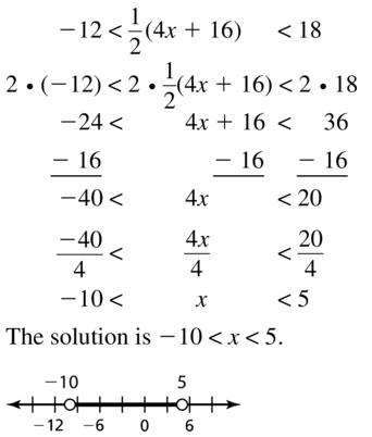 Big Ideas Math Algebra 1 Answer Key Chapter 2 Solving Linear Inequalities 2.5 Question 19
