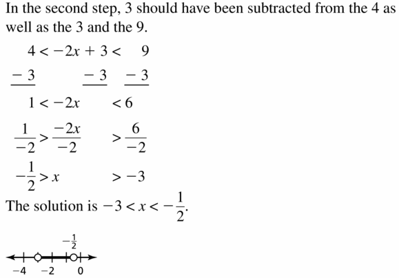 Big Ideas Math Algebra 1 Answer Key Chapter 2 Solving Linear Inequalities 2.5 Question 21