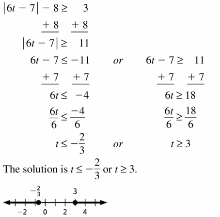 Big Ideas Math Algebra 1 Answer Key Chapter 2 Solving Linear Inequalities 2.6 Question 11