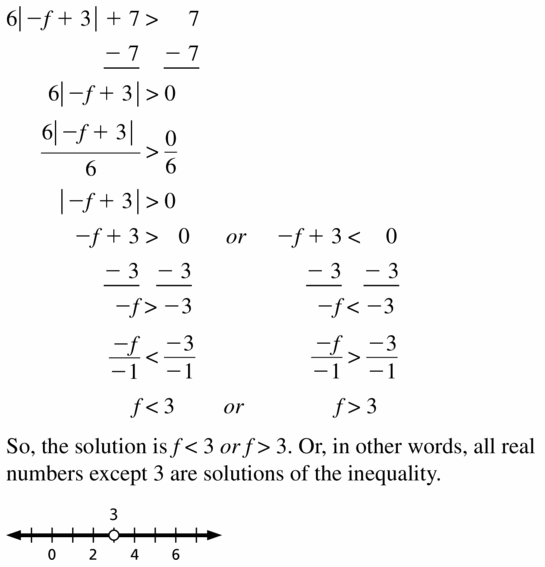 Big Ideas Math Algebra 1 Answer Key Chapter 2 Solving Linear Inequalities 2.6 Question 17