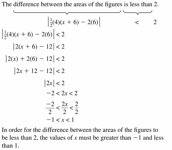 Big Ideas Math Algebra 1 Answer Key Chapter 2 Solving Linear Inequalities 2.6 Question 29