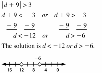 Big Ideas Math Algebra 1 Answer Key Chapter 2 Solving Linear Inequalities 2.6 Question 5