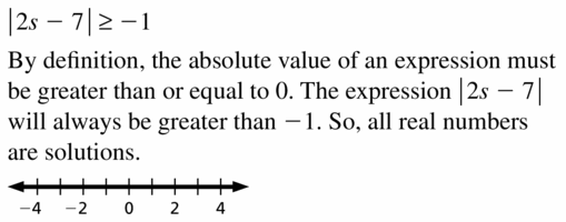 Big Ideas Math Algebra 1 Answer Key Chapter 2 Solving Linear Inequalities 2.6 Question 7