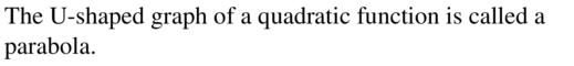 Big Ideas Math Algebra 1 Answer Key Chapter 8 Graphing Quadratic Functions 8.1 a 1