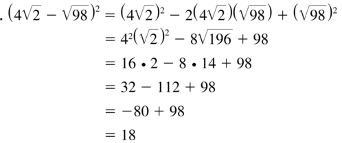Big Ideas Math Algebra 1 Answer Key Chapter 9 Solving Quadratic Equations 9.1 a 87