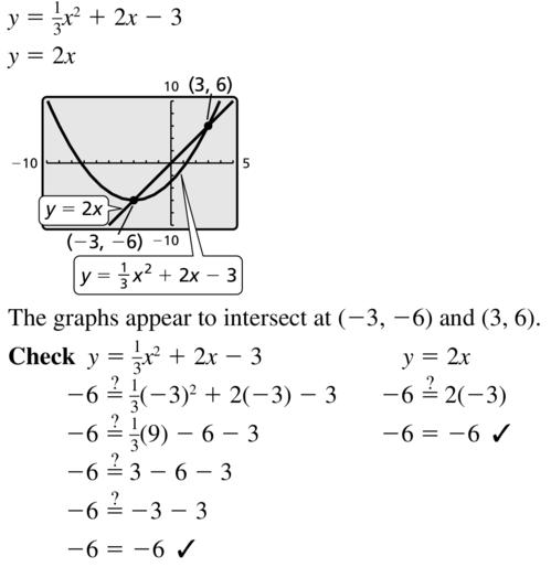 Big Ideas Math Algebra 1 Answer Key Chapter 9 Solving Quadratic Equations 9.6 a 11.1
