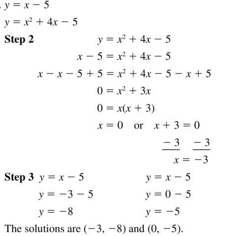 Big Ideas Math Algebra 1 Answer Key Chapter 9 Solving Quadratic Equations 9.6 a 13