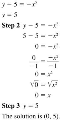 Big Ideas Math Algebra 1 Answer Key Chapter 9 Solving Quadratic Equations 9.6 a 17
