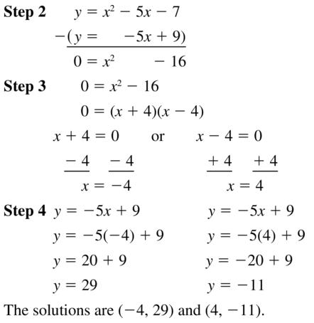 Big Ideas Math Algebra 1 Answer Key Chapter 9 Solving Quadratic Equations 9.6 a 19