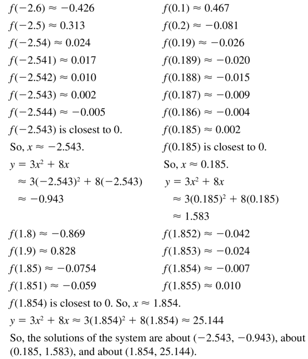 Big Ideas Math Algebra 1 Answer Key Chapter 9 Solving Quadratic Equations 9.6 a 35.2