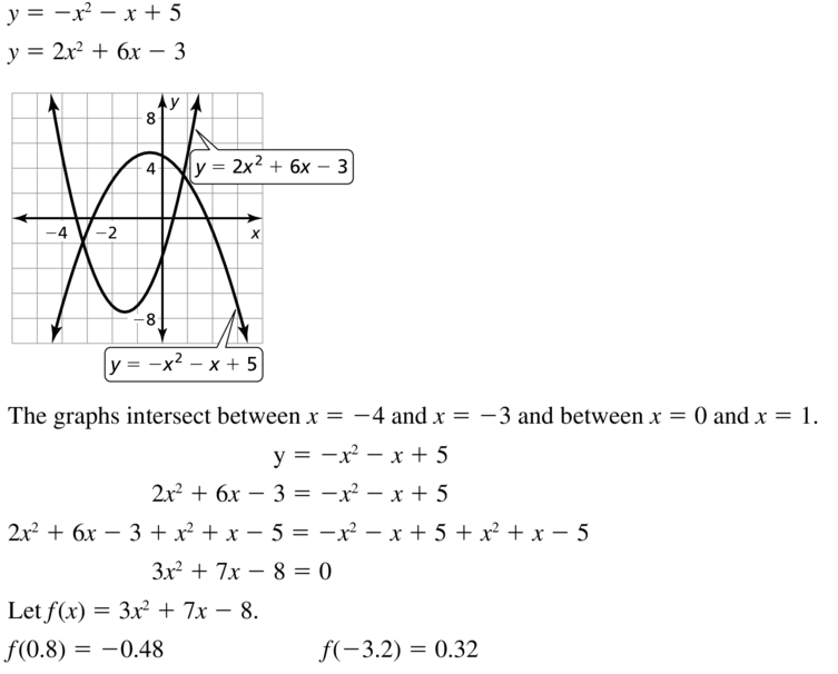 Big Ideas Math Algebra 1 Answer Key Chapter 9 Solving Quadratic Equations 9.6 a 37.1
