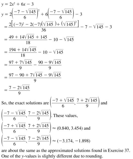 Big Ideas Math Algebra 1 Answer Key Chapter 9 Solving Quadratic Equations 9.6 a 47.2