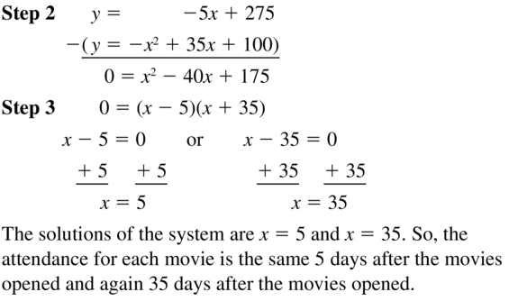 Big Ideas Math Algebra 1 Answer Key Chapter 9 Solving Quadratic Equations 9.6 a 49